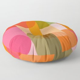 Ping Pong - brights Floor Pillow