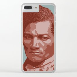 Frederick Douglass Clear iPhone Case