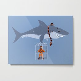 Brought My Lunch!  Metal Print