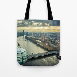 On top of the World- London 2 Tote Bag