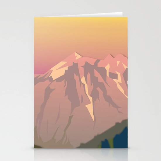 Night Mountains No. 47 Stationery Cards