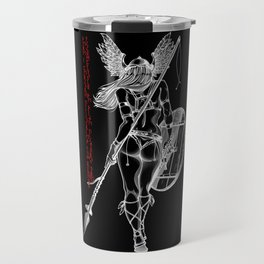 The Valkyrie - Negative Travel Mug