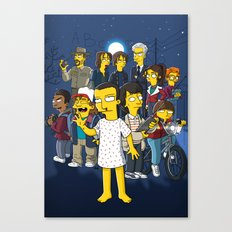 Simpsonized Things Canvas Print