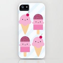 Summer Ice Cream Treats iPhone Case