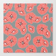 Retro bloom 002 Canvas Print
