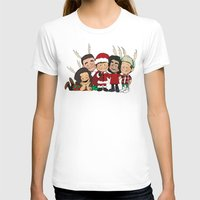 liam payne T-shirts featuring It's Christmas, Liam Payne by Ashley R. Guillory