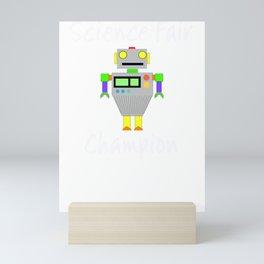 Science Fair Champion Robot Mini Art Print