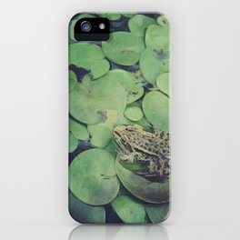 all green iPhone Case
