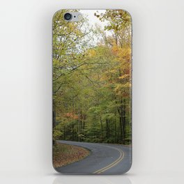 Frozenhead Road - Green - Square iPhone Skin