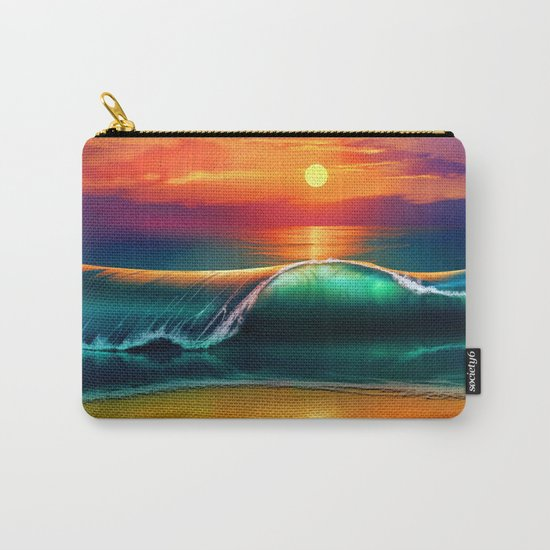 Beauty wave I Carry-All Pouch