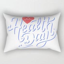 Health Life Rectangular Pillow