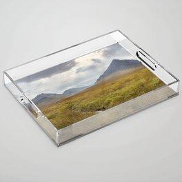 Glencoe, Scottish Highlands Acrylic Tray