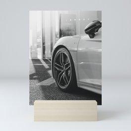 Sports Car Wheels Mini Art Print