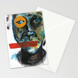 Geometry Face Stationery Cards