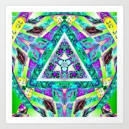 Triple Cepter Art Print