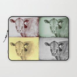 Here's Looking at Moo Laptop Sleeve