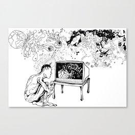 KABOOM! Canvas Print