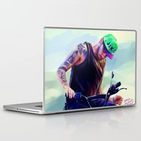 cargline Laptop & iPad Skins featuring the joker by cargline