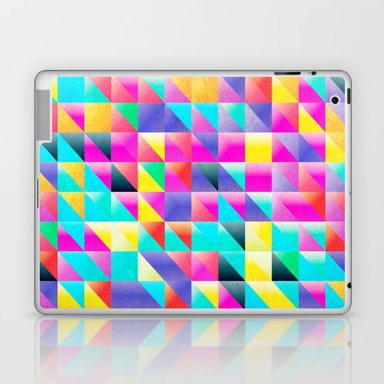 Geometric Neon  Laptop & iPad Skin