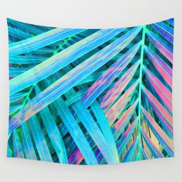 Rainbow Palms Wall Tapestry