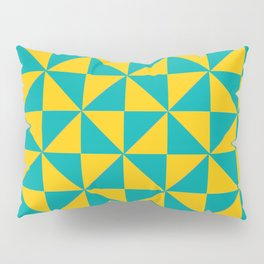 Colored Geomatric Pillow Sham