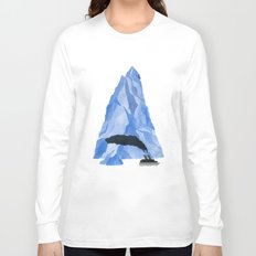 The Living Iceberg Long Sleeve T-shirt