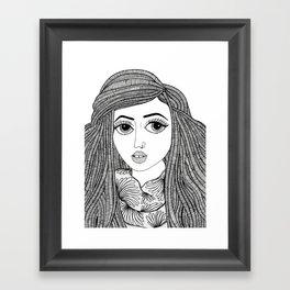 Warsan Framed Art Print
