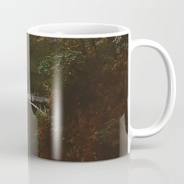 Autumn At Multnomah Falls Coffee Mug