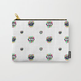 Pattern eye ball Carry-All Pouch