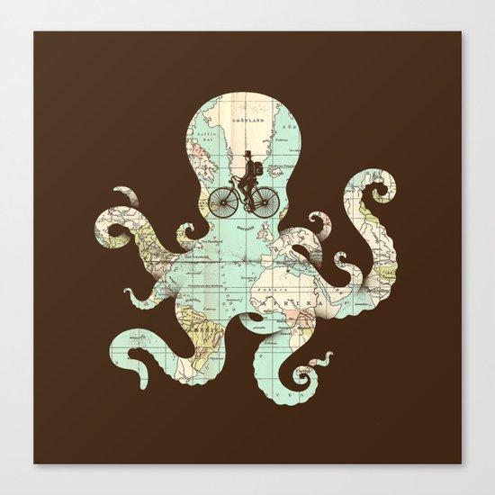 All Around The World Canvas Print