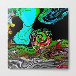 Women Empower Soul Art /ABSTRACT ART Metal Print