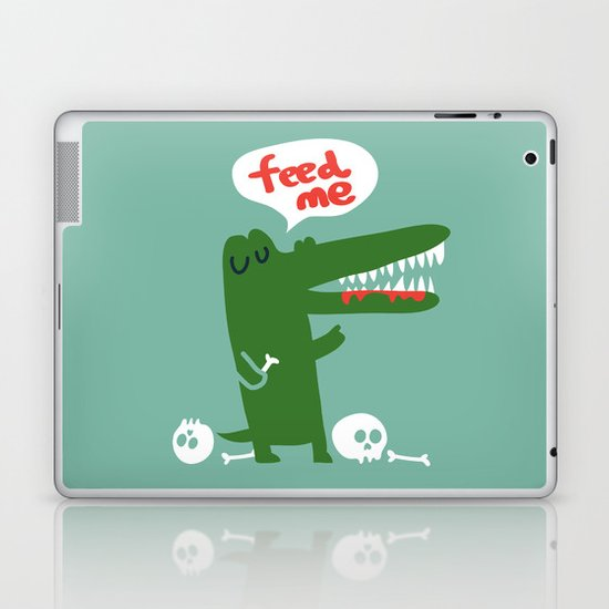 Hungry Hungry Alligator Laptop & iPad Skin