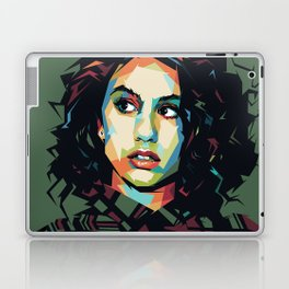 Alessia Pop Art Cara Laptop & iPad Skin