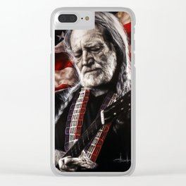 Red Headed Stranger Clear iPhone Case
