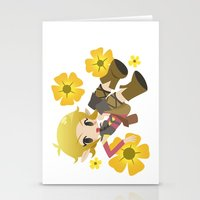 dragon age Stationery Cards featuring Dragon Age - Buttercup Sera by Choco-Minto