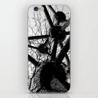 tesla iPhone & iPod Skins featuring Tesla by sustici