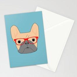 Fawn Bulldog Stationery Cards