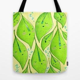 Sleepy Leaves  Tote Bag