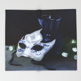 Masked Throw Blanket