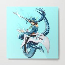 Sindbad Djinn Equip Baal Metal Print