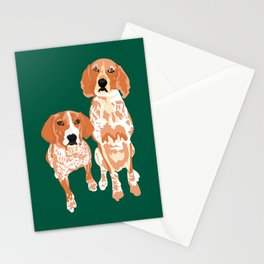 Gracie and George Stationery Cards