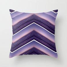 Purple Phase Throw Pillow
