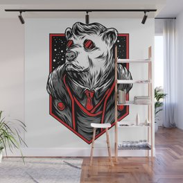 Mafia Bear Wall Mural