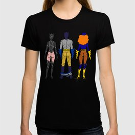 Superhero Butts Love 7 - Cat Bats T-shirt