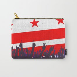 Washington DC Flag with Audience Carry-All Pouch