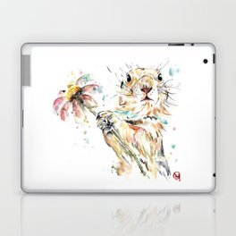 Gopher Colorful Watercolor Painting Laptop & iPad Skin