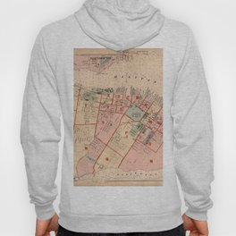 Map of Halifax 1878 Hoody
