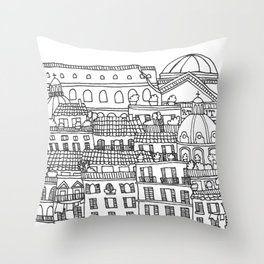 Rome, Italy Throw Pillow