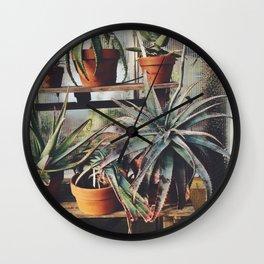 Cactus Wall Wall Clock