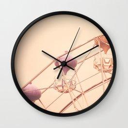 Rising Gondolas Wall Clock